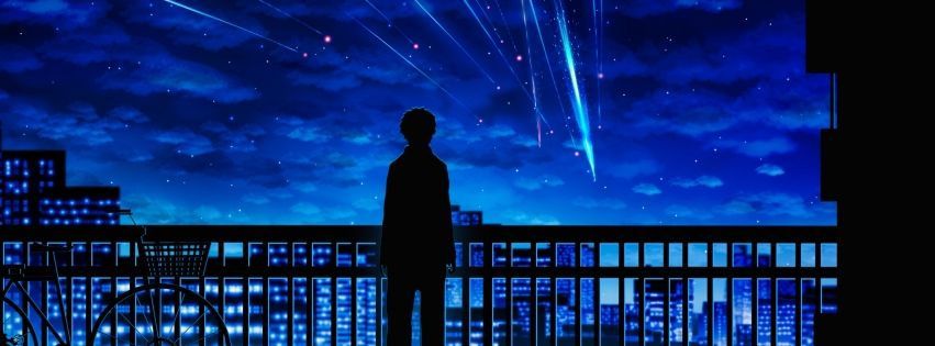 Anime Your Name Facebook Cover Cover Abyss Capa De Twitter Capa Facebook Cover