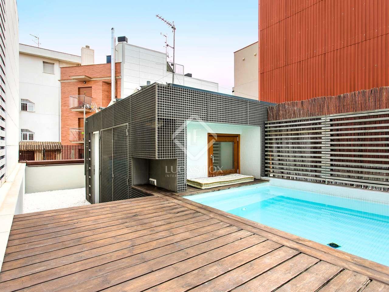 Casa Moderna De 140m En Alquiler En Poblenou Barcelona Casa Moderna Alquiler Casa Contemporanea