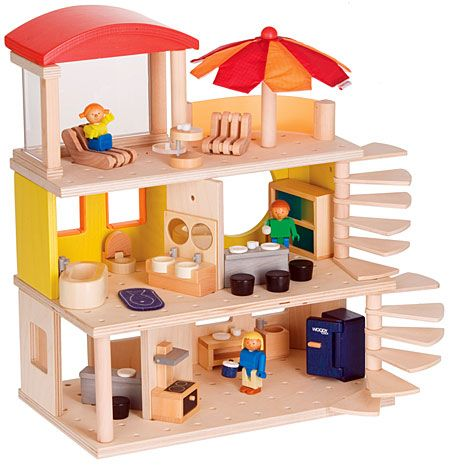 woody click-family home ($73) | dollhouses, toy and dolls