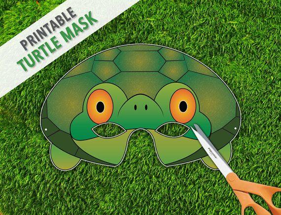 Turtle Mask Tortoise Party By Therasilisk 3 99