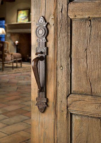 Merveilleux Front Door Hardware On Destructed Door Would Be Amazing For The Man Cave Or  Secret Hideaway