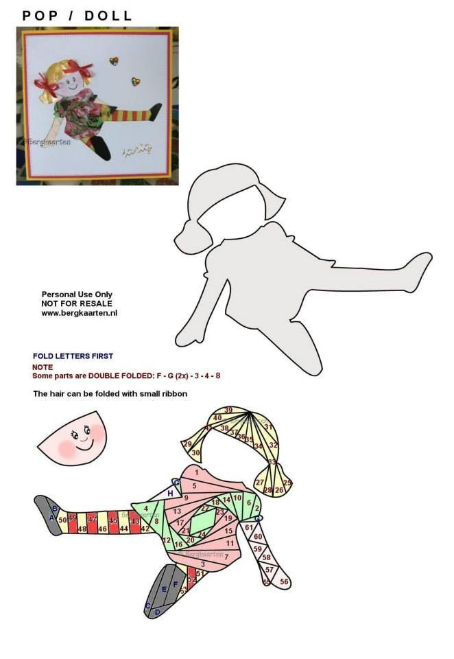 Irisvouwen: Doll