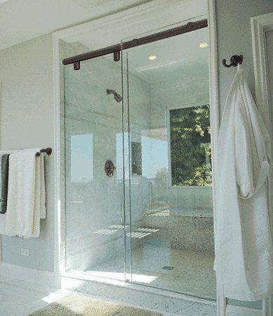Crl 60 34 Oil Rubbed Bronze Hydroslide 180 Degree Standard Sliding Shower Door Kit Http Www Amazon Com Dp Shower Doors Sliding Shower Door Shower Door Kit