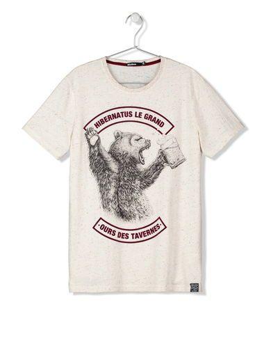 T-shirt Ours Bizzbee | T shirt, Tee shirt