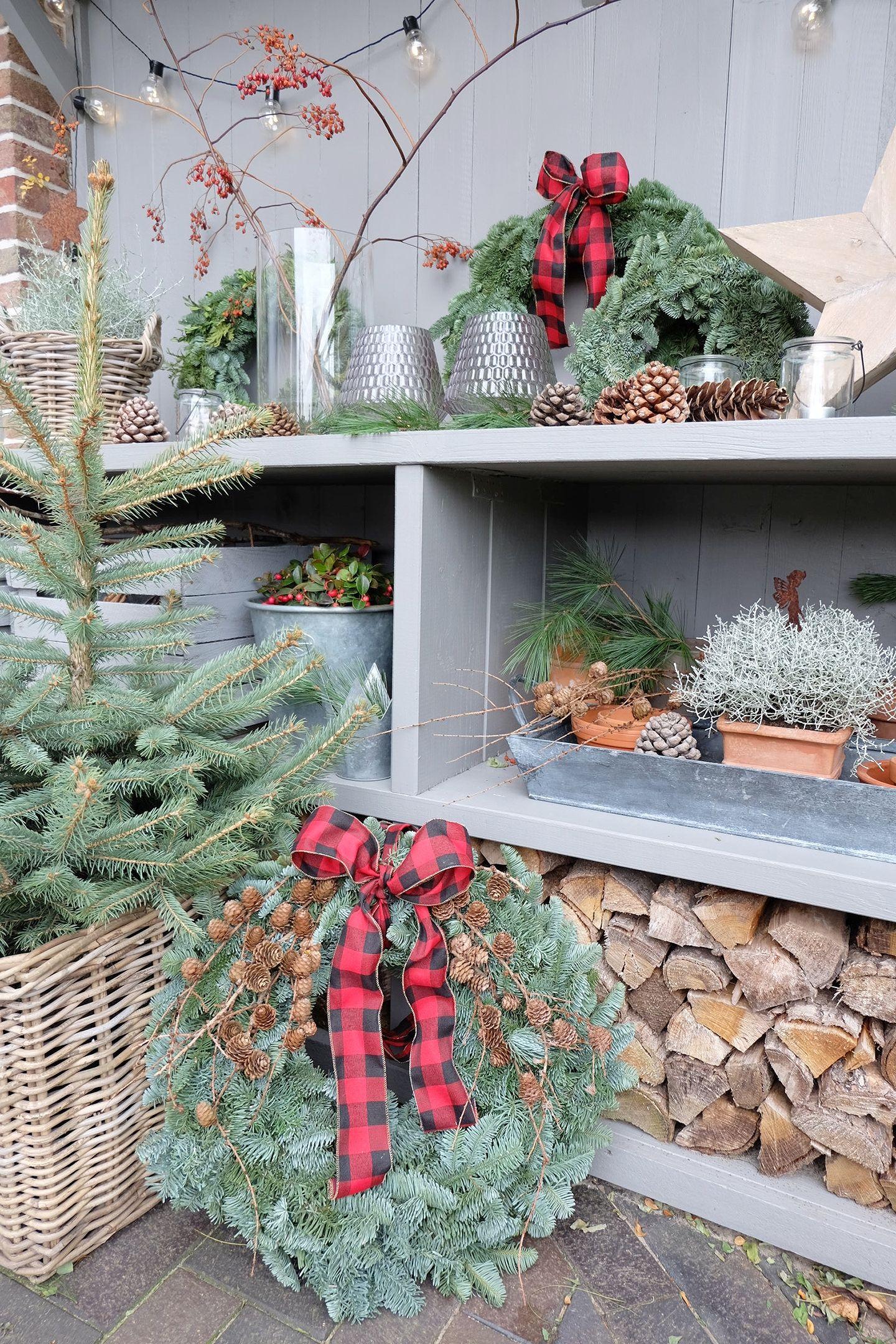 Winterlich Dekorieren Im Garten Unser Garten Wird Winterfest Weihnachtlich Gestalten Weihnachten Dekoration Dekorieren