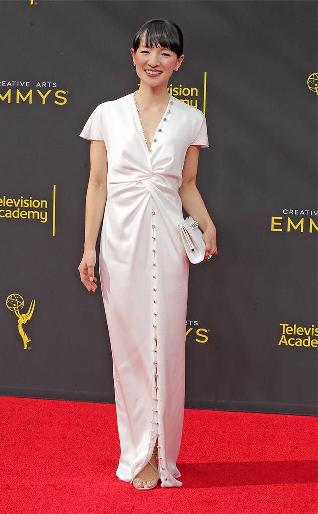 Marie Kondo from Creative Arts Emmys 2019: Red Carpet Fashion
