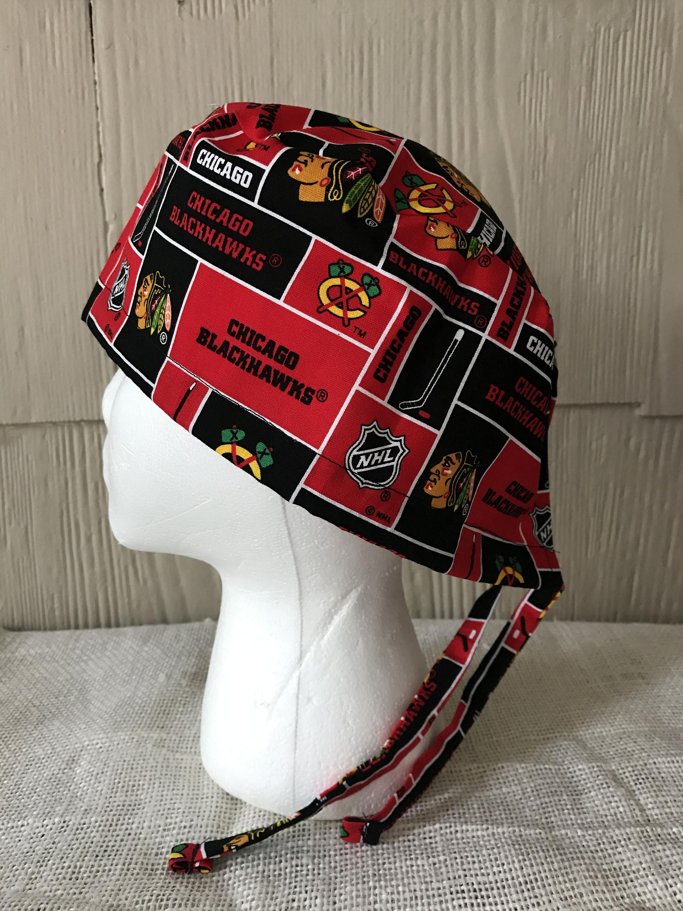 1f0c894ce23 ... hat 7d798 d634d germany texas rangers unisex surgical scrub cap chicago  blackhawks scrub cap block pattern surgery cap scrub ...