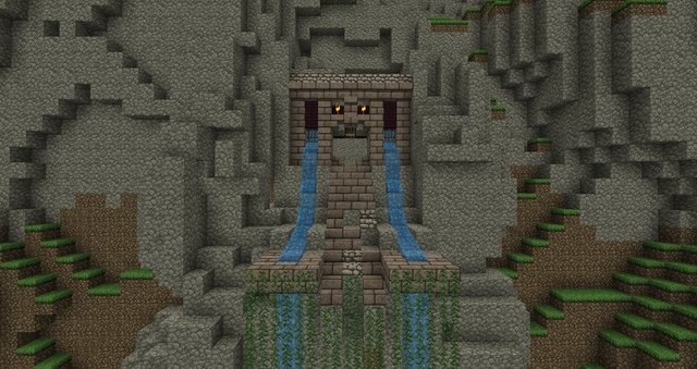 Minecraft Cave Mountain Enterance Minecraft Trees And