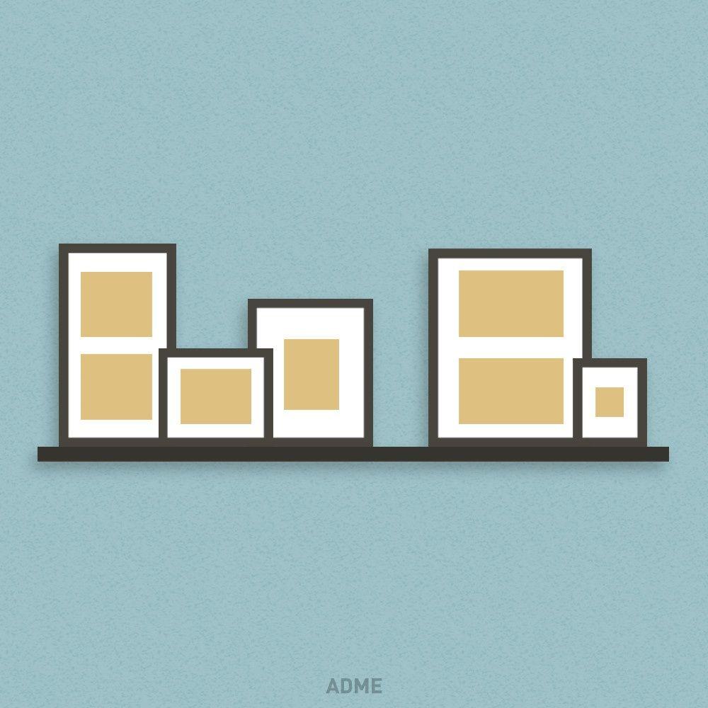 Muy original! | Estanterías | Pinterest | Cuadro, Hogar y Colgar cuadros