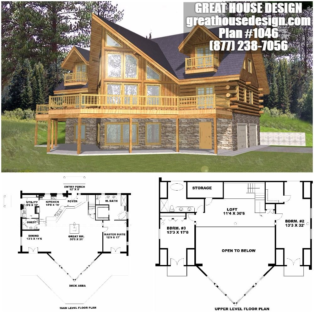 Home Plan 001 1046 Home Plan Great House Design Craftsman House Plans House Design House Plans