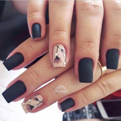nails matte art colour ideas for  elegant nail designs
