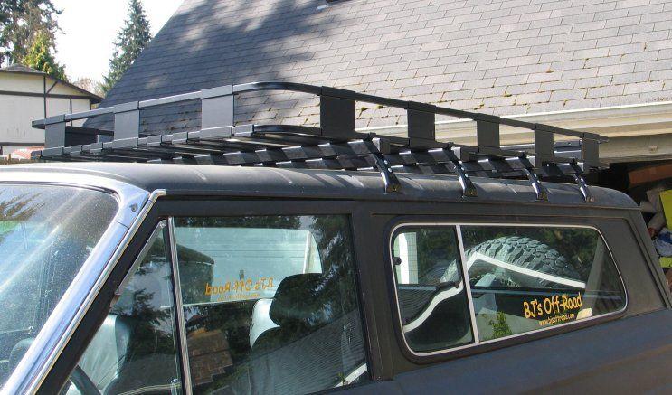 """50""""x72"""" Safari Roof Rack Kit Roof rack, Safari, Jeep"""