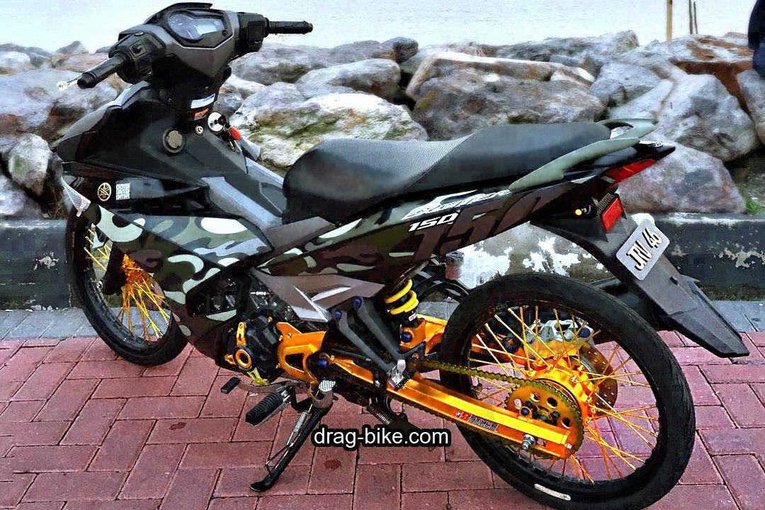 40 Foto Gambar Modifikasi Jupiter Mx King Jari Jari Ceper Drag Road Race Drag Bike Com Di 2020 Gambar Drag Racing Motor