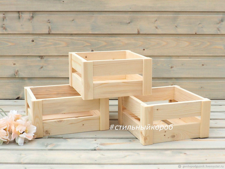 Деревянный ящик для цветов своими руками фото 720
