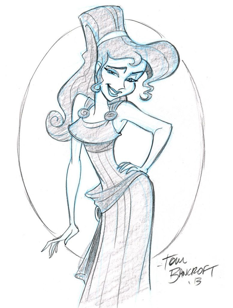Meg from Hercules by tombancroft on deviantART | Sketches ...