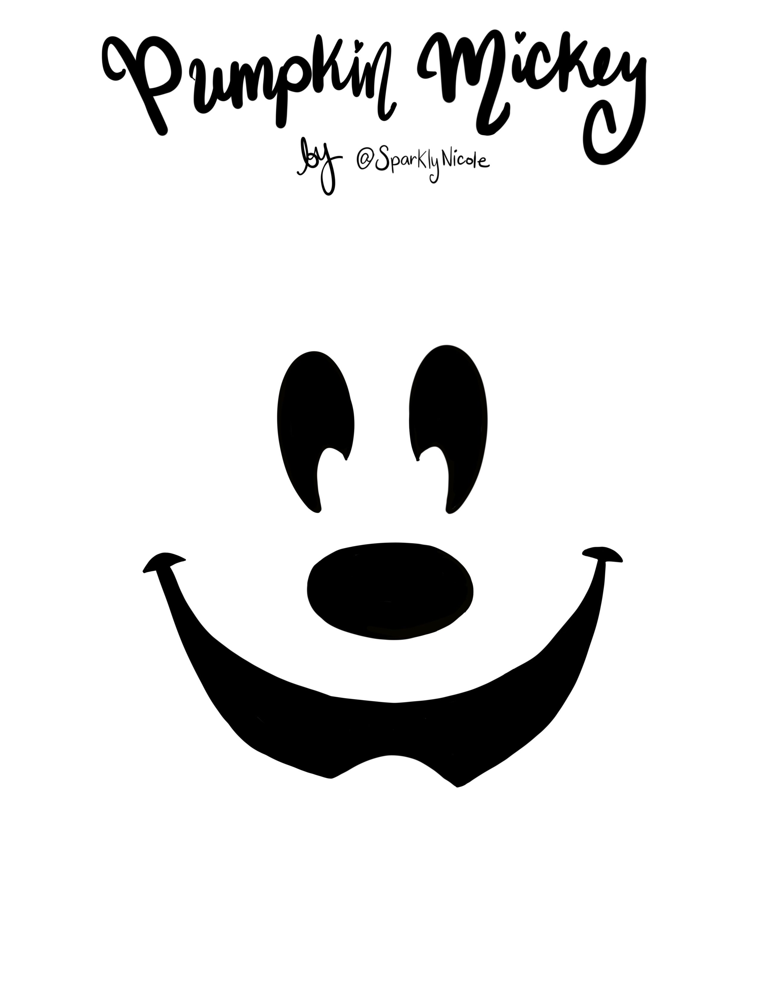 Minnie Mouse Halloween Pumpkin Stencils.Pin On Holiday Activities And Crafts