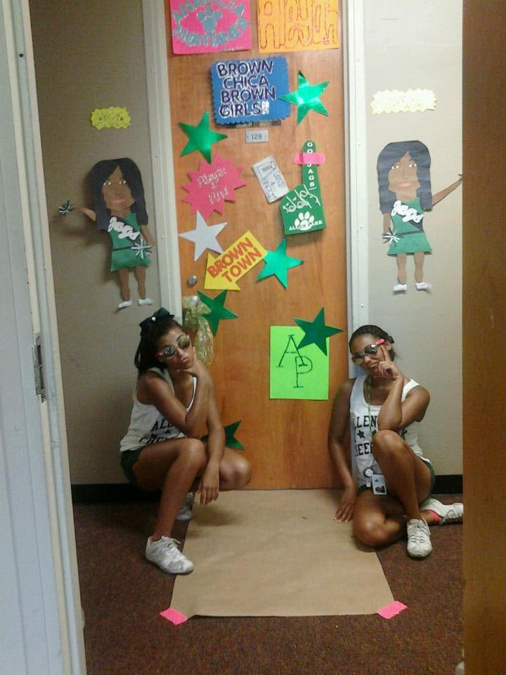 Cheer Camp Door Contest Cute Idea Cheer Cheer Camp