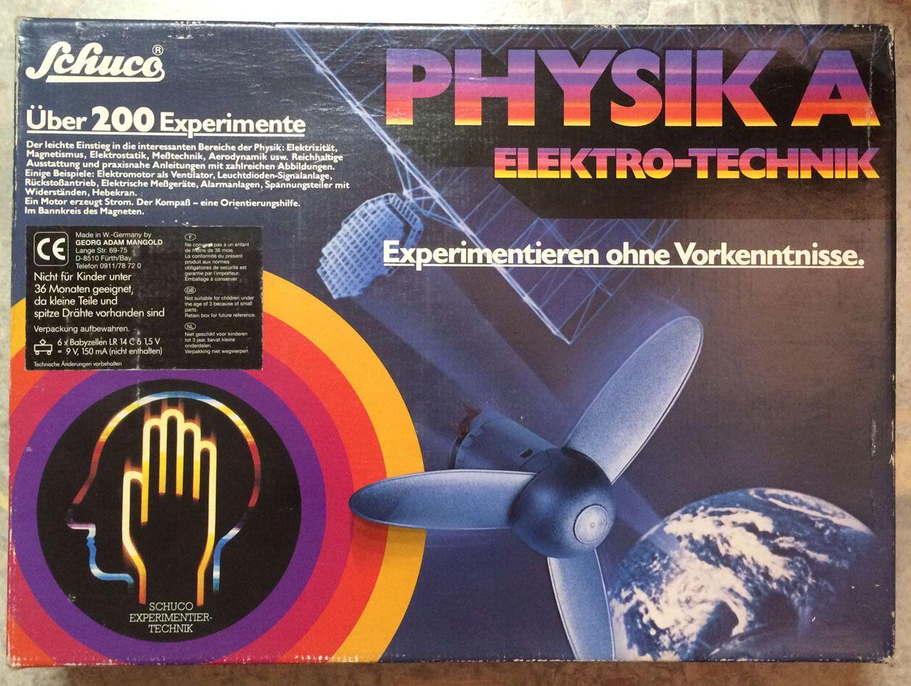 Schuco Physik A Elektro-Technik A6501, Experimentierkasten | eBay