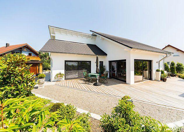 Das Dach Wurde Mit Modernen: Ein Bungalow Sollte Es Werden, 30 Grad Dachneigung Waren