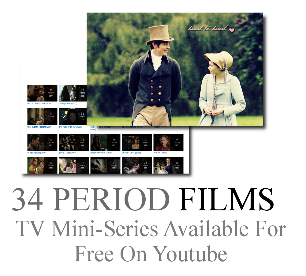 34 Period Films Available For Free On Youtube Youtube Movies Period Movies Film