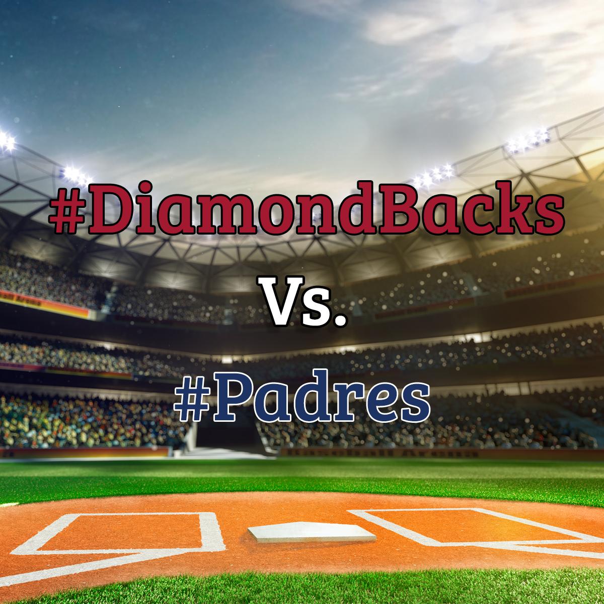 Who are you cheering for? #Diamondbacks #Padres #CactusLeague #SpringTraining