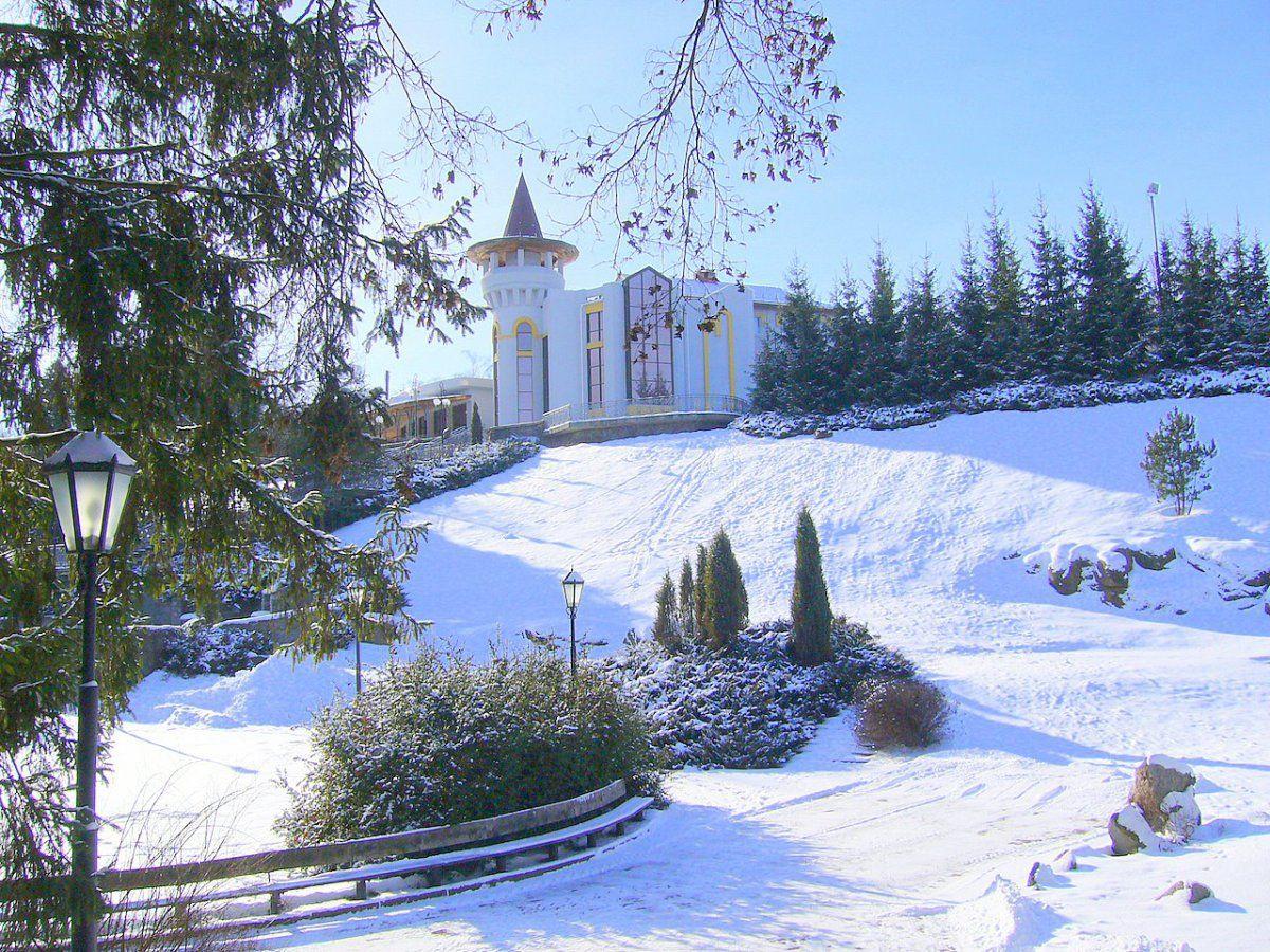 Парк Софіївка взимку
