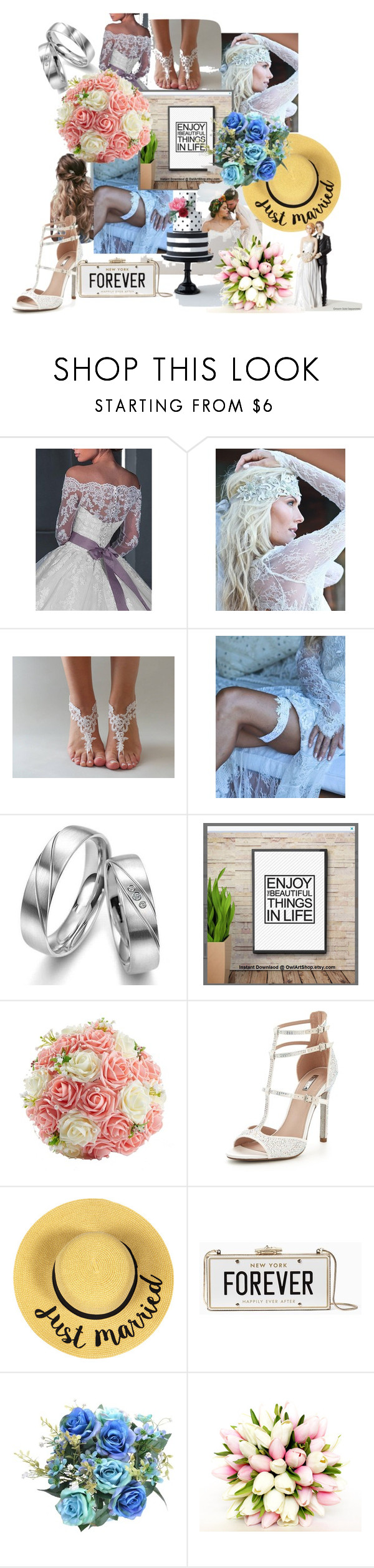 """""""Wedding Passion"""" by merdous ❤ liked on Polyvore featuring Carvela and Kate Spade"""