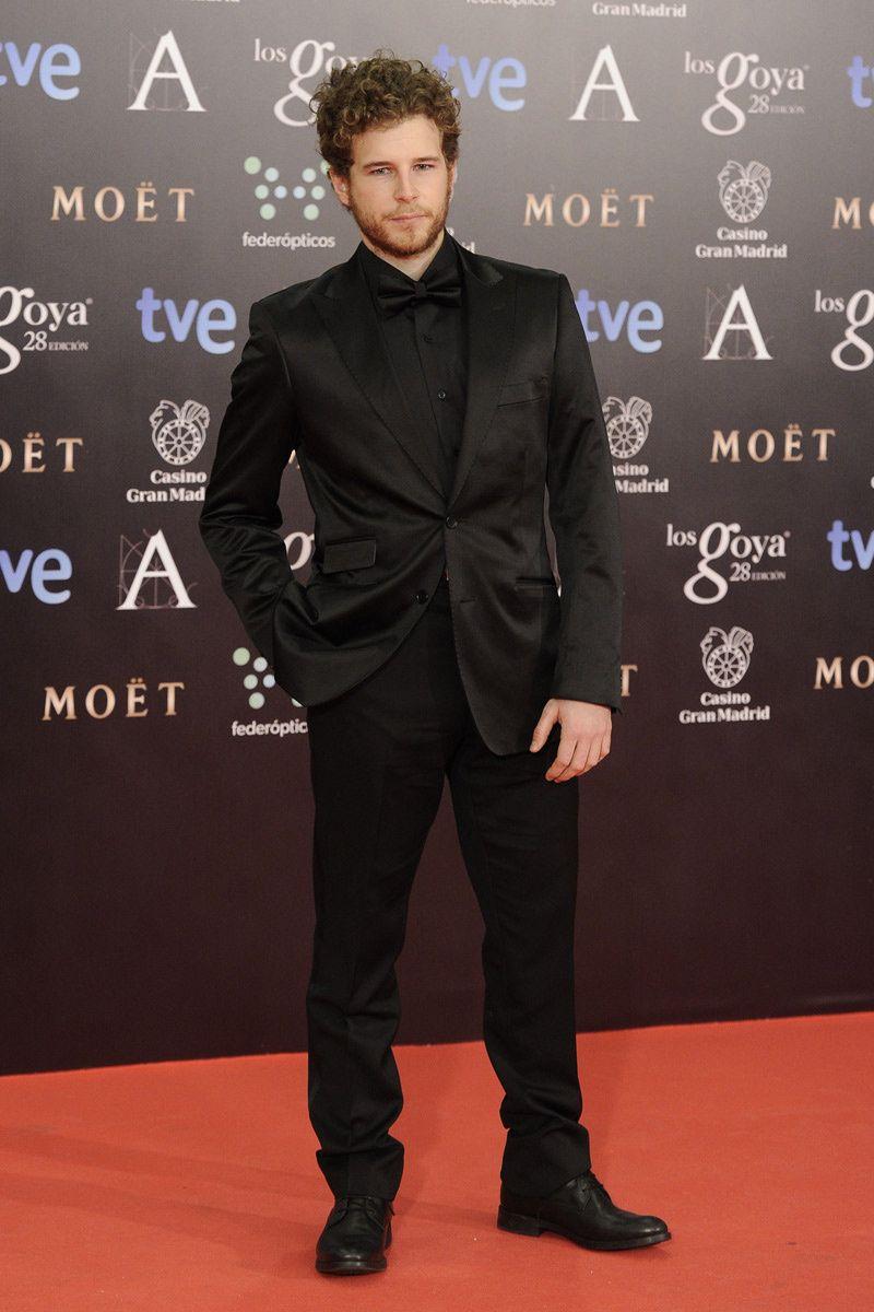 Italian Boy Name: Alvaro Cervantes - Premios Goya 2014