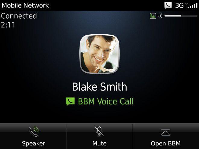 BlackBerry Messenger ahora les permite a sus usuarios hacer llamadas de voz cuando están conectados a Wi-Fi http://ow.ly/fjvAz