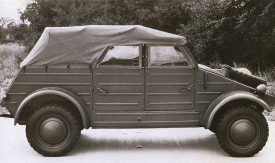 Fue idea de Hitler la creación de un coche popular, robusto y barato, para servir como medio de transporte en sus tareas diarias al trabajador y brindarle placer en sus tiempos de ocio, lo que desemboco en el proyecto Volkswagen, un automóvil que se podía pagar en accesibles plazos. [ Kubelwagen ]