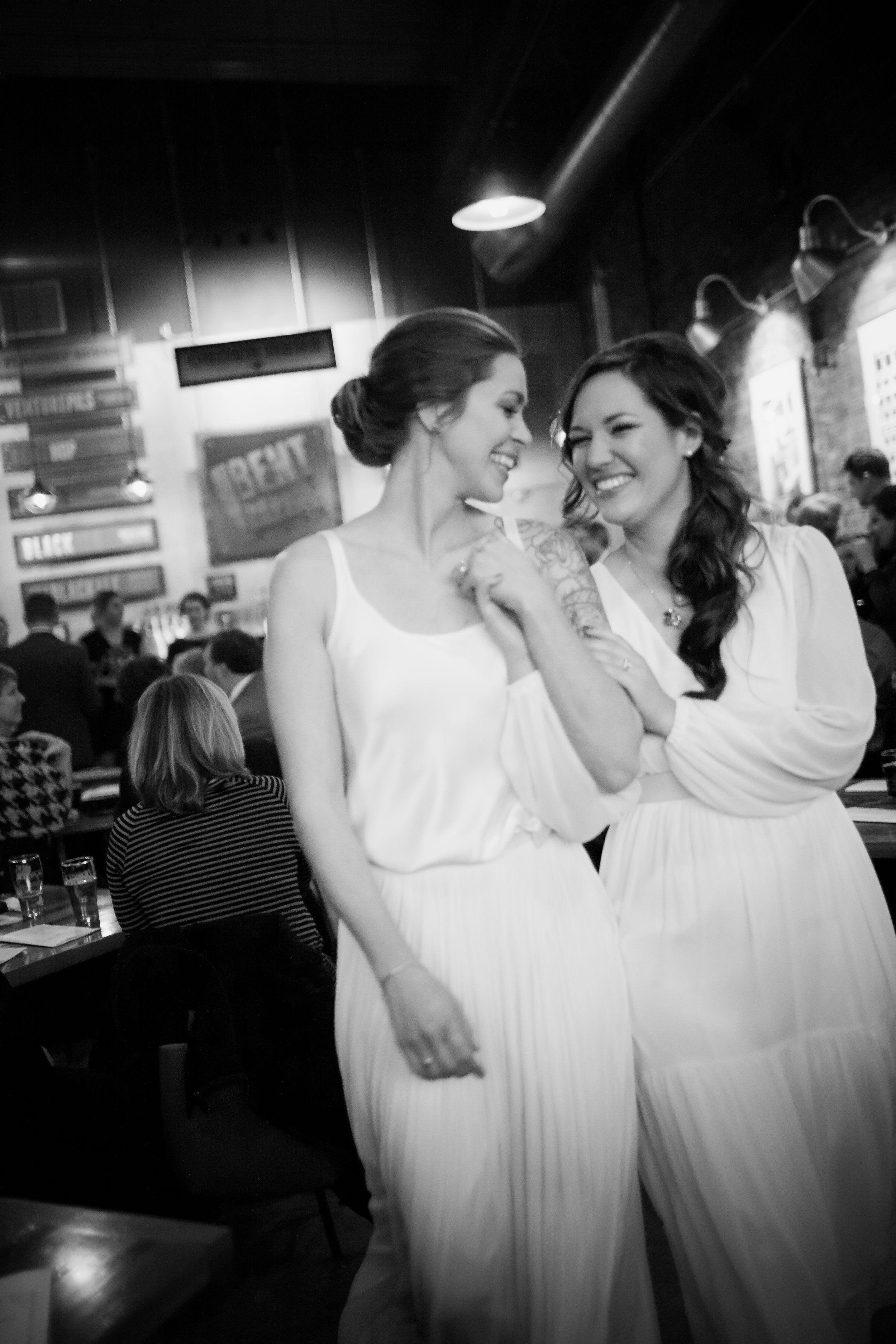 Wedding Makeup for Lesbian weddings. Clean beauty timeless wedding ...