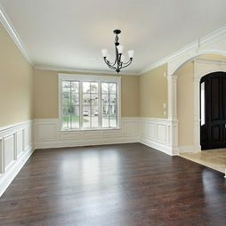 Traditional Dining Room Wainscoting This Room Size And Layout Is Similar To Mine Dining Room Wainscoting Diy Wainscoting White Wainscoting