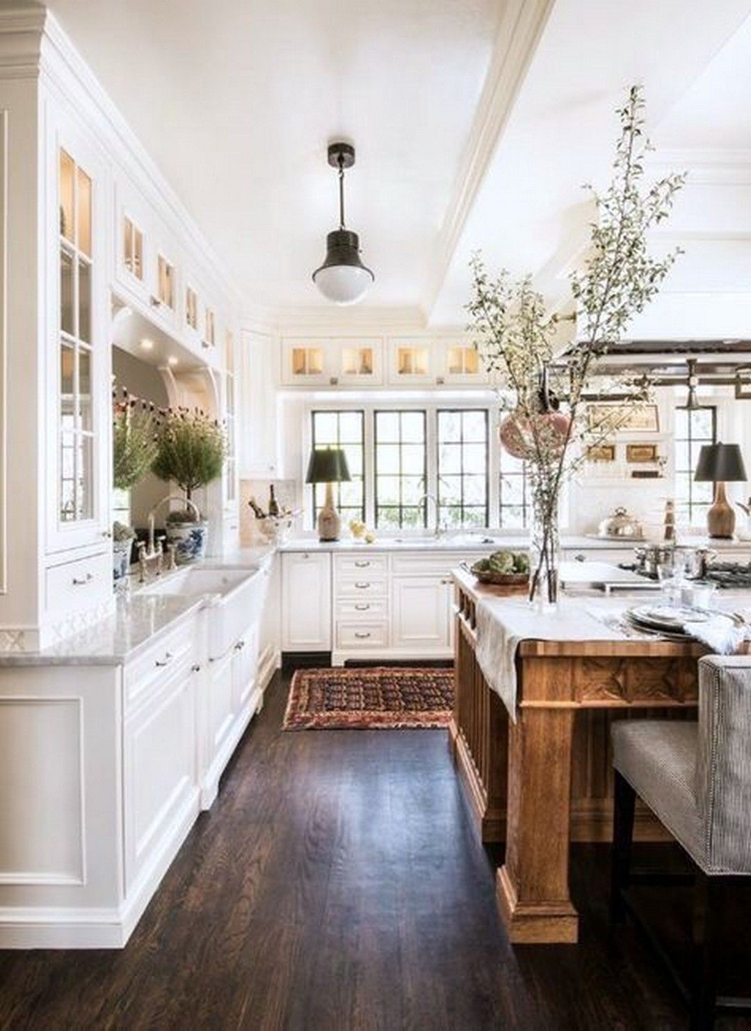 simple and modern historic homes kitchen details