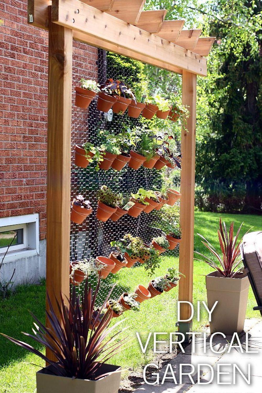 How To Build Your Own Diy Vertical Garden Wall Vertical Garden Design Vertical Garden Diy Vertical Garden