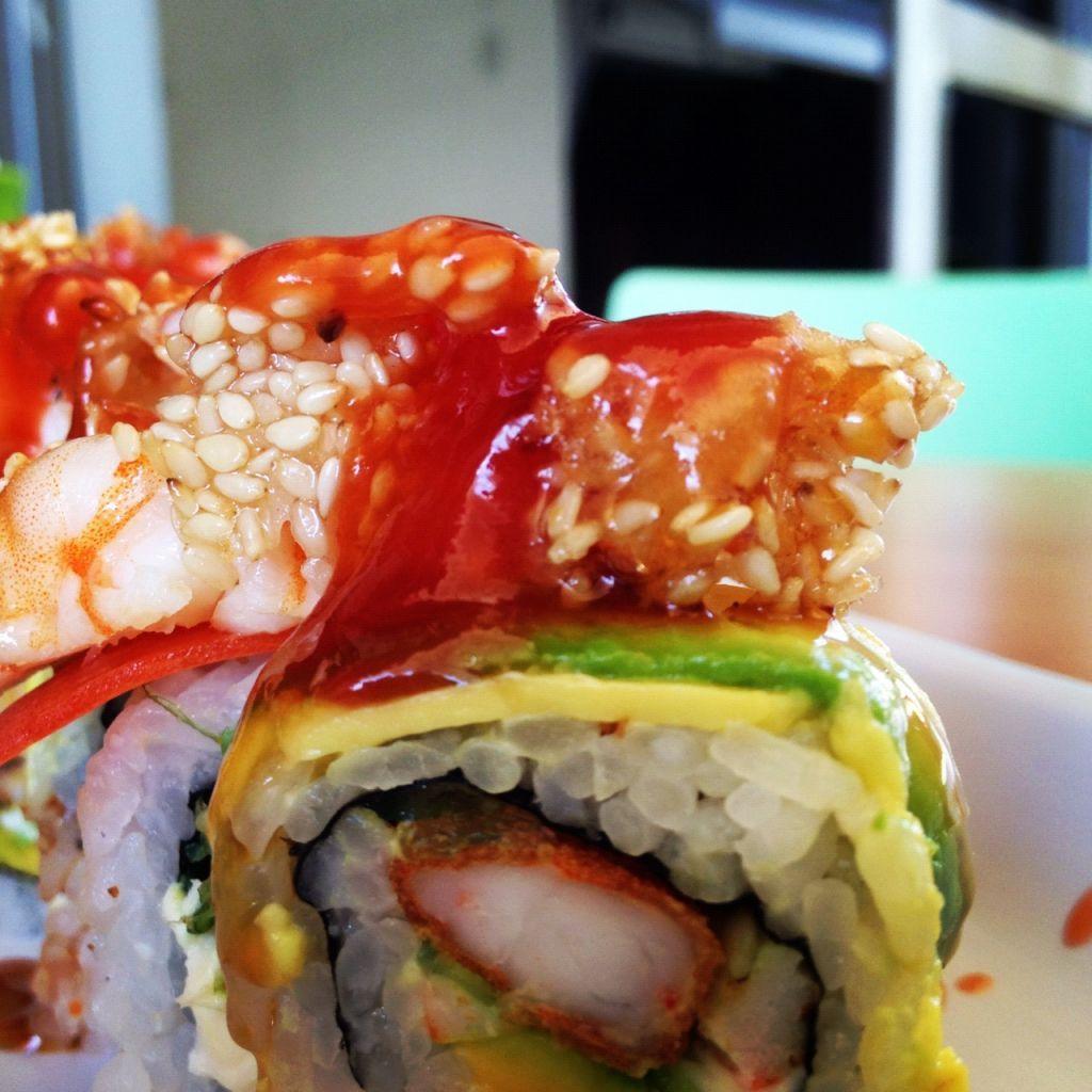 Taboo Roll que puedes disfrutar en Taka Sushi @sushitaka