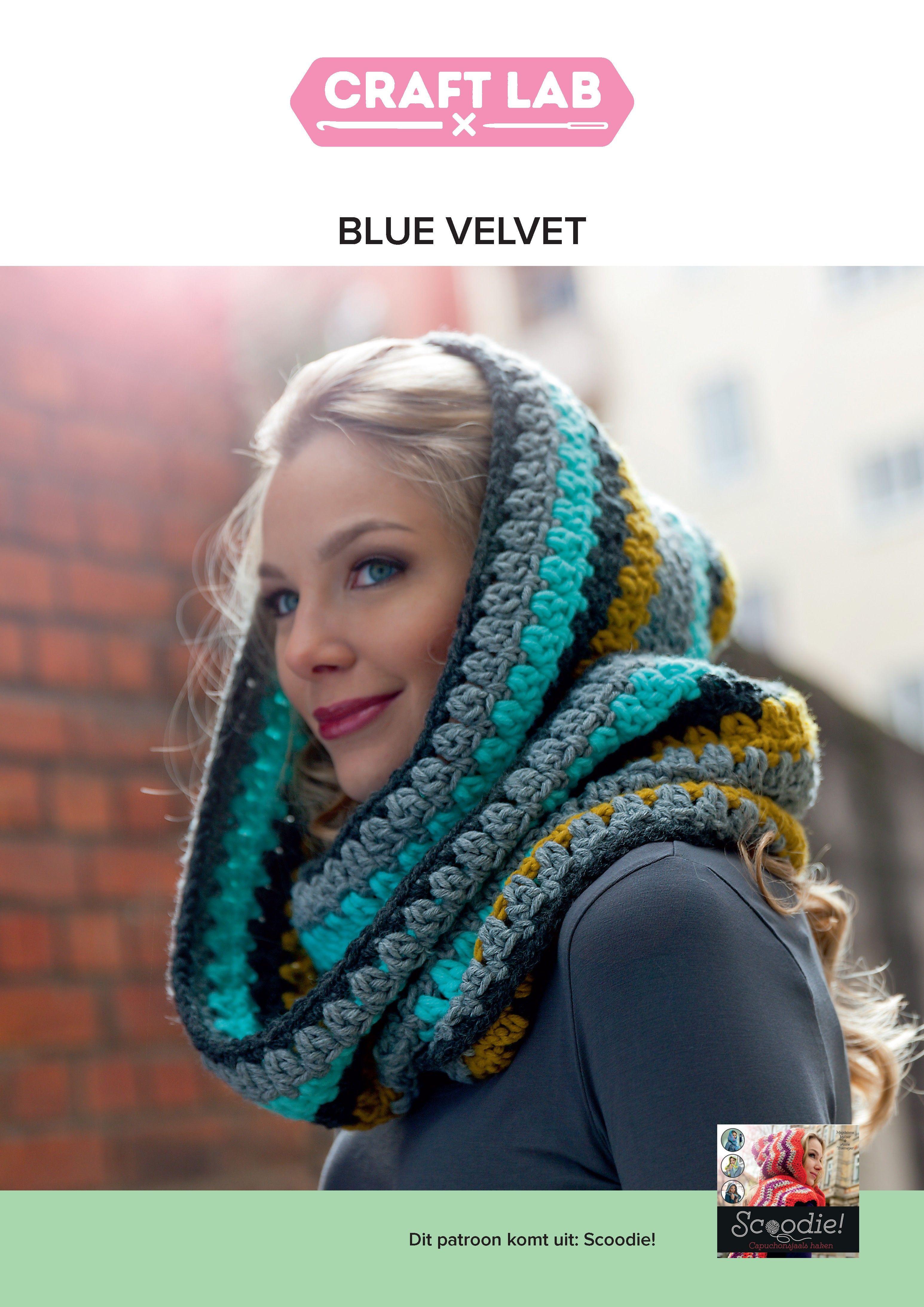 Gratis haakpatroon Blue Velvet - Scoodie! | DIY & Tutorials Crochet ...