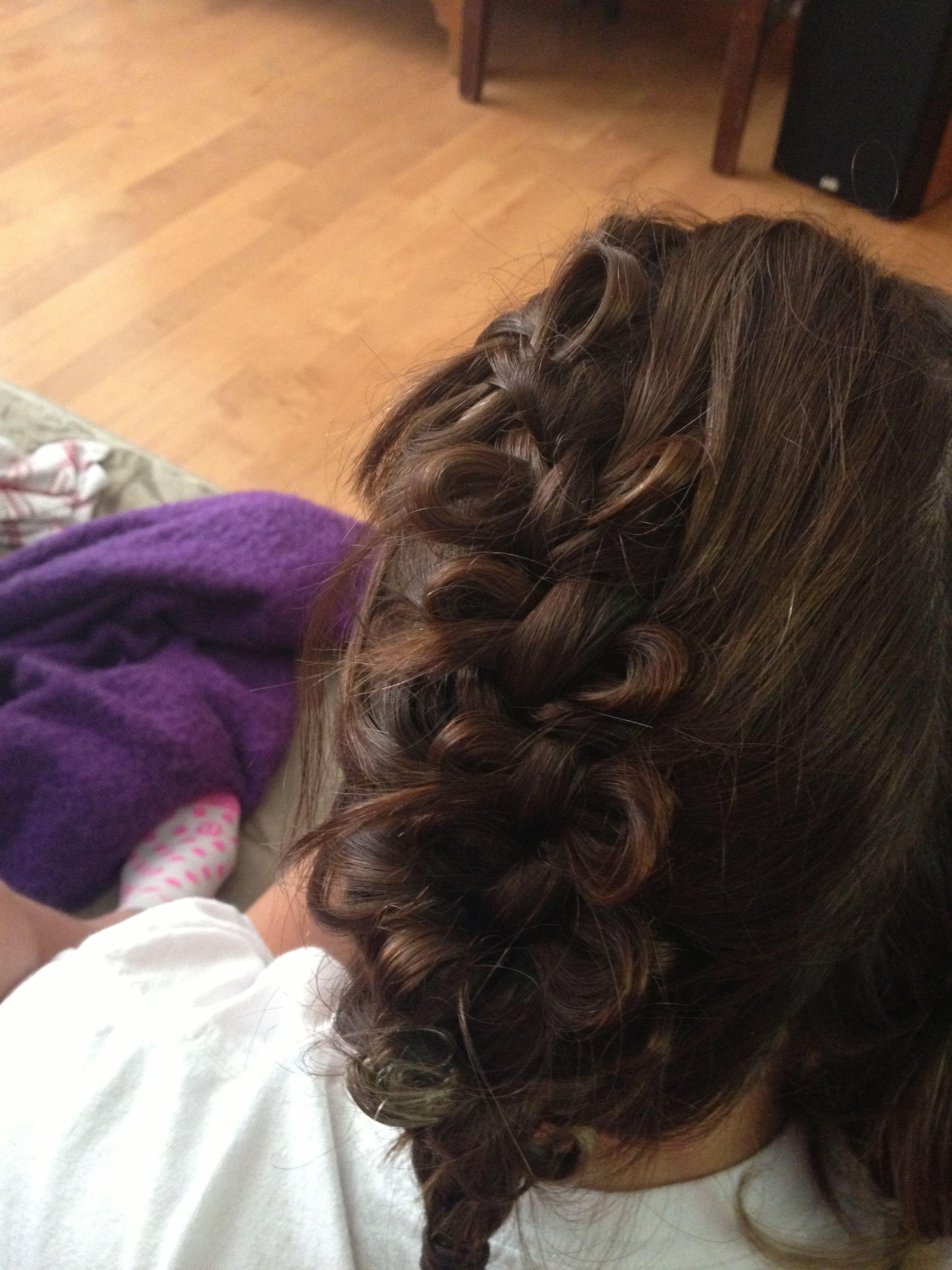 Bow braid hair and beauty pinterest bow braid
