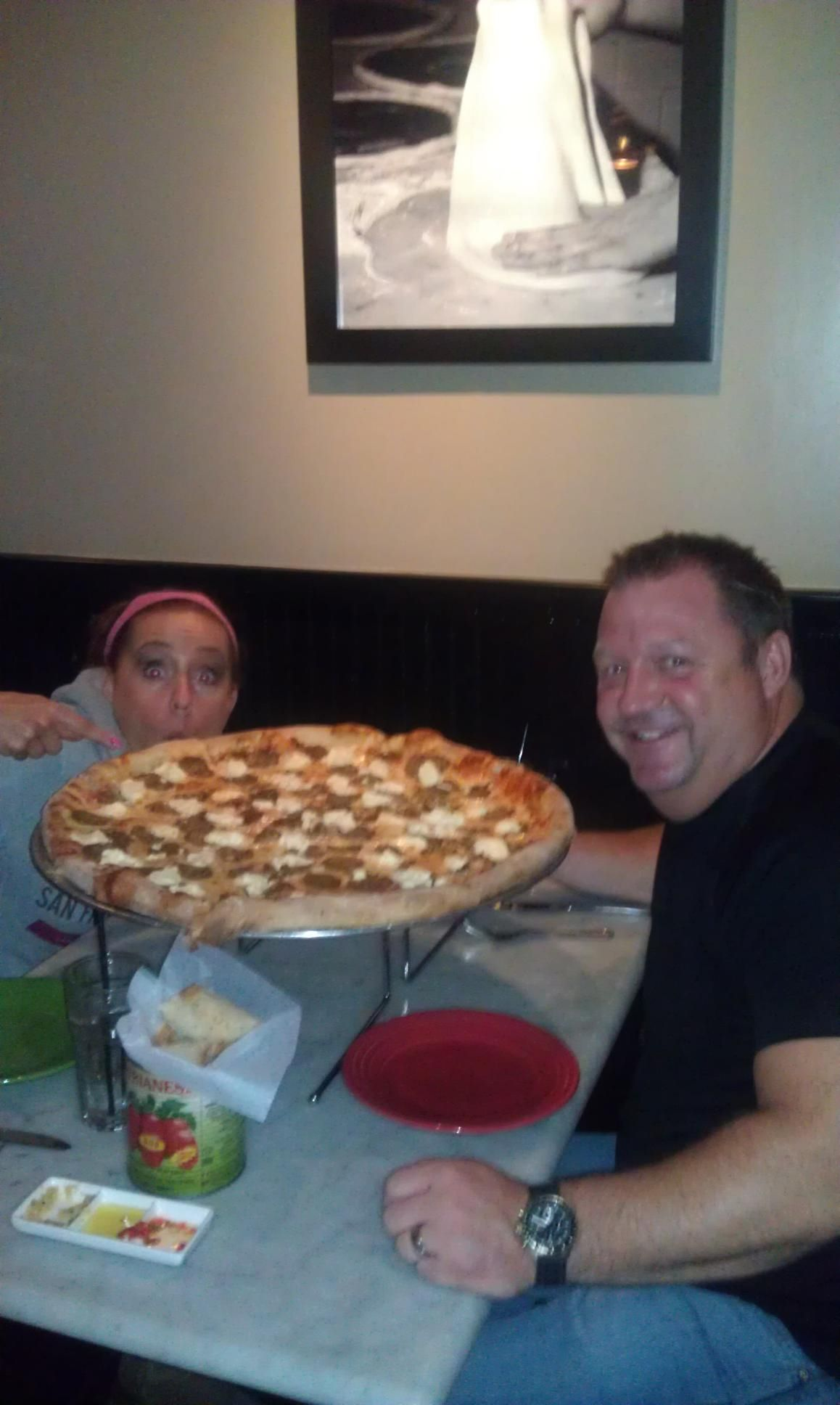 Biggest & best pizza ever!