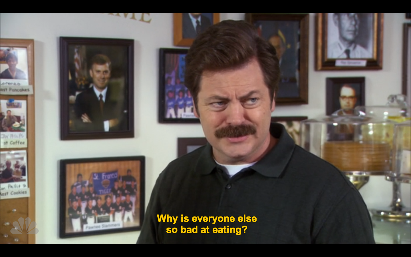 Pin By Ellen Kim Yahoo On Backgrounds Parks N Rec Parks And Recreation Ron Swanson
