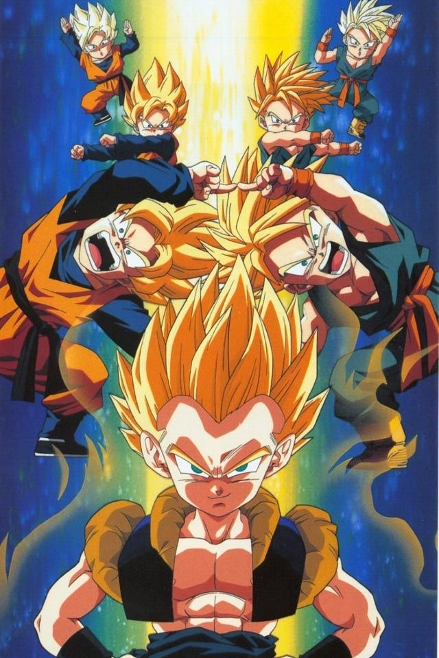 Trunks And Gotens Fusion Dance Dbz Also See Cartoon Pics