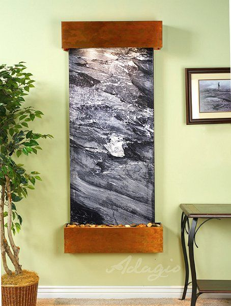 For Just 1799 You Can Enjoy This Wall Mounted Water Feature Your Home Office Or