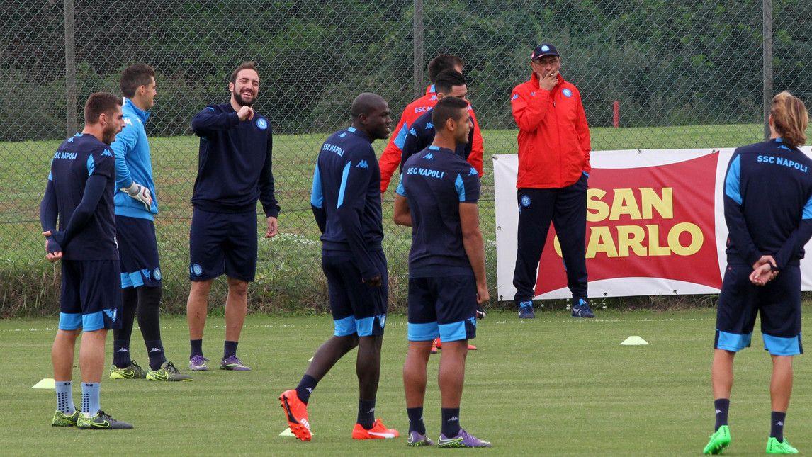 Europa League, il Napoli si prepara per la sfida colMidtjylland - Corriere dello Sport