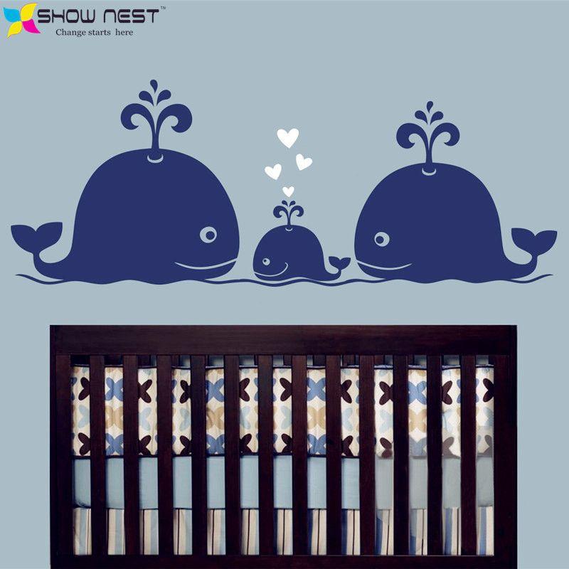 Por Whale Nursery Decor Lots