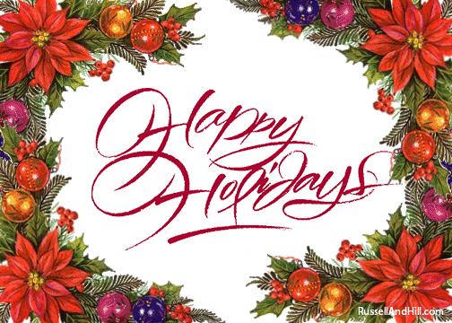 Christmas Happy Holidays Christmas Clipart Happy Holidays Clip Art Borders