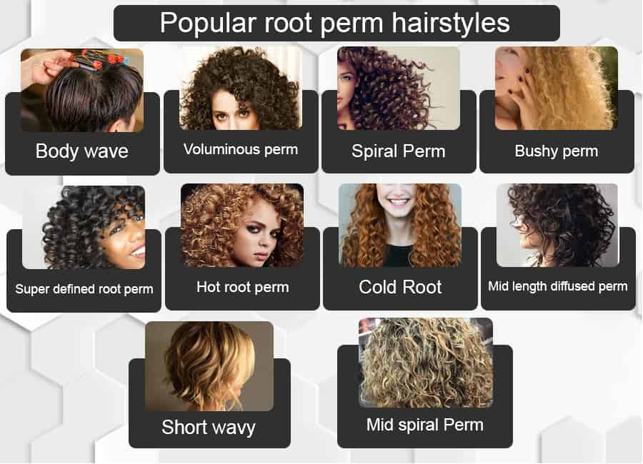 Root Perm Volume Perm How To Do A Root Perm Root Perm Long Hair Permed Hairstyles Long Hair Perm Wavy Hair Perm