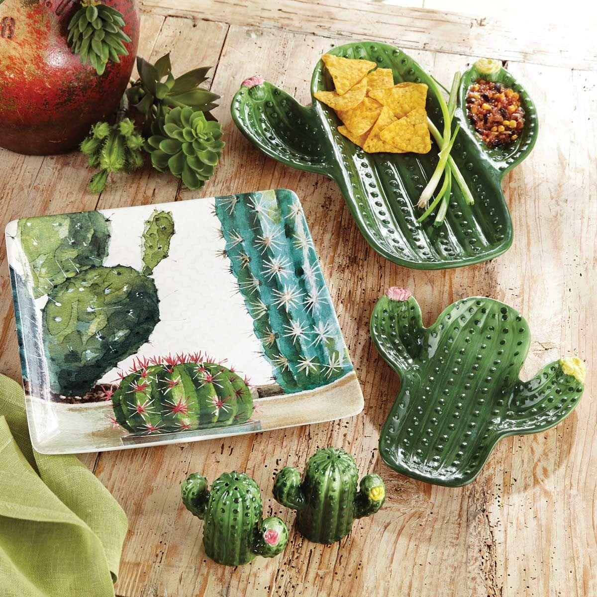 Fun Cactus Inspired Kitchen  Cactus decor, Cactus, Western