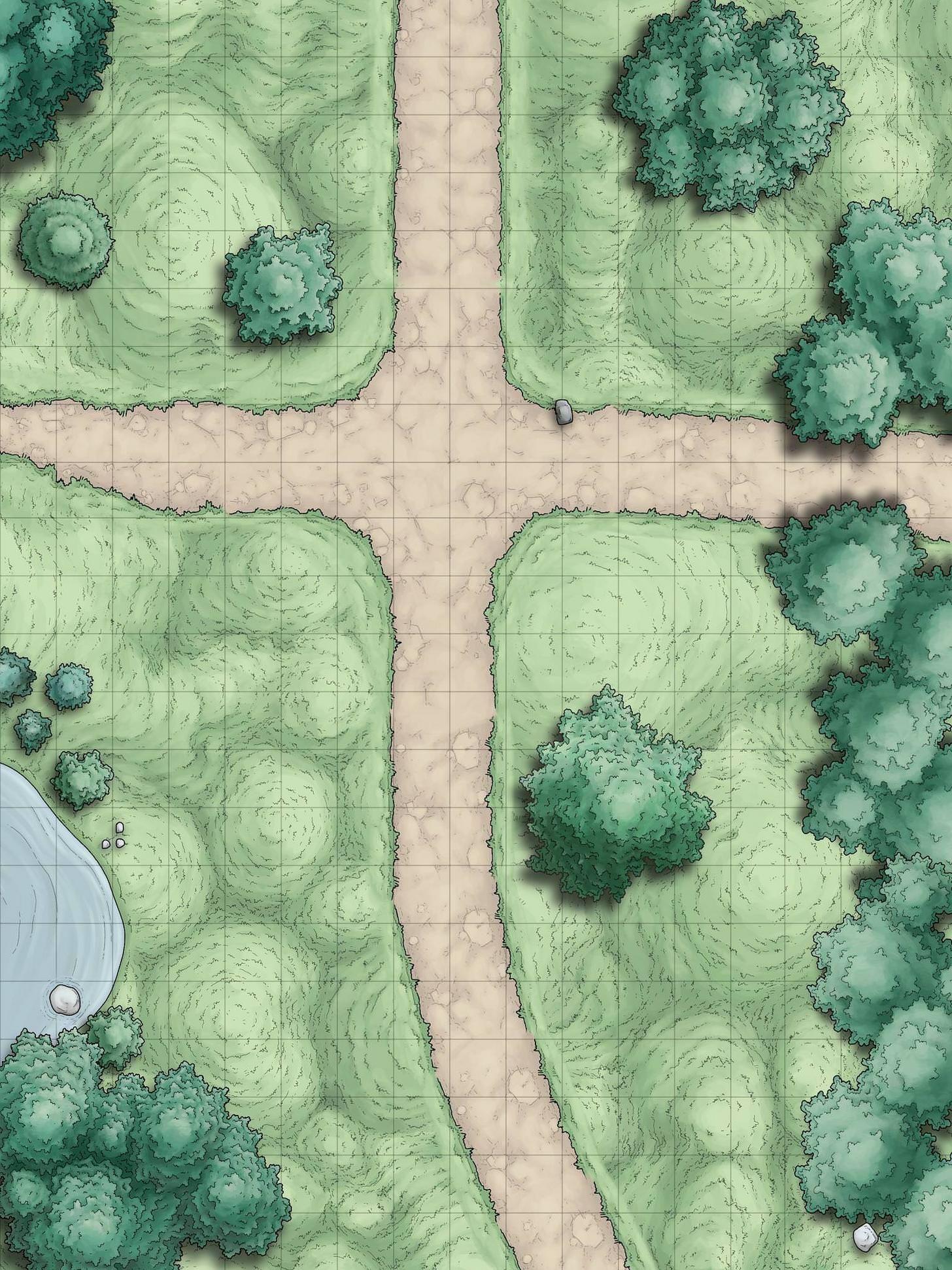 Random Encounter Battle Maps