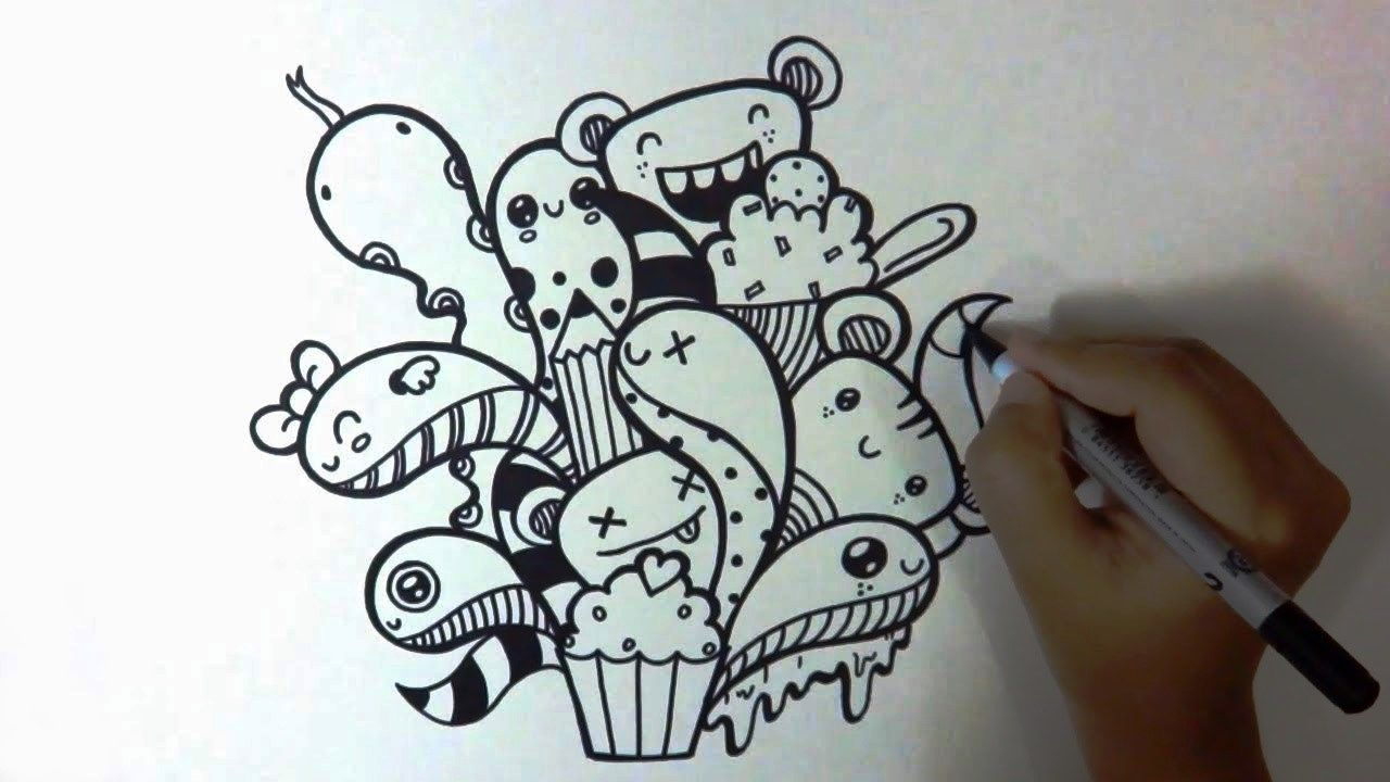 Easy Doodle Art Designs : Drawings tumblr doodles easy u2013 best wallpaper kawaii pinterest