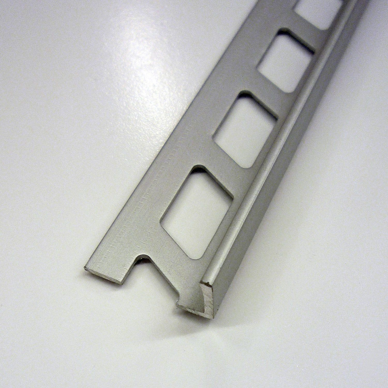 Equerre De Finition Carrelage Mur Aluminium Anodise L 2 5 M X Ep