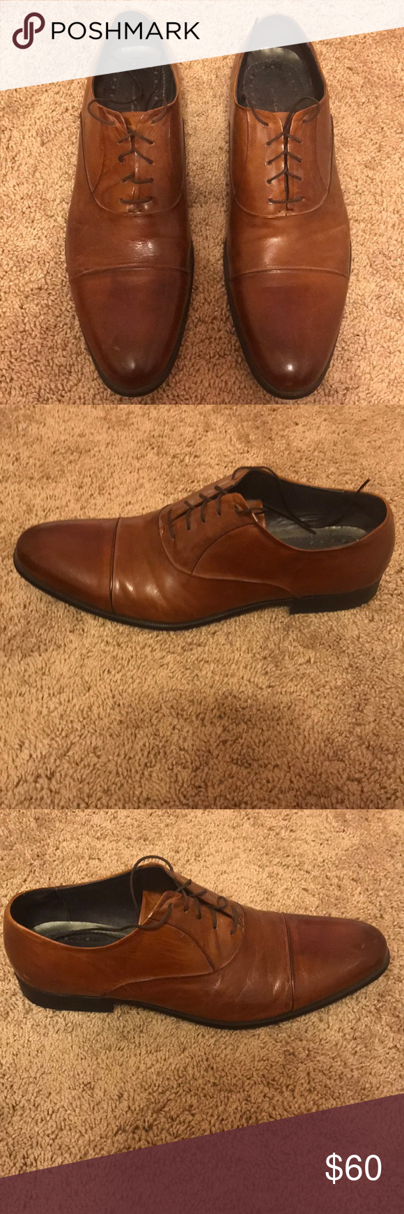 aab530b329be73 Kenneth Cole New York Chief Council LE Brown Kenneth Cole New Chief Council  Men s Dress Shoes